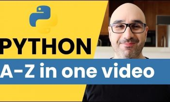 Learn Python 3 for Machine Learning & Web Development [2019]