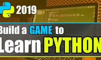 Python Tutorial for Beginners – Crash Course 2019 | Build a Game with Python