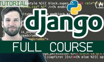 Python Django Web Framework – Full Course for Beginners