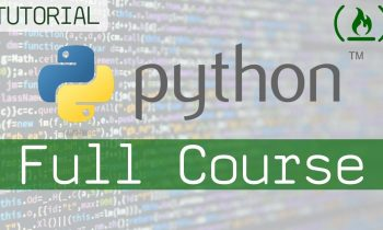 Learn Python – Full Course for Beginners