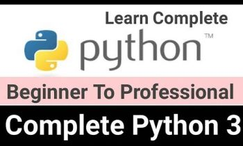 Learn Programming with Python Step by Step From Beginning to Professional 2019