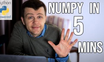 Learn NUMPY in 5 minutes – BEST Python Library!