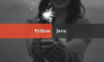 Python Vs Java  – In 2018