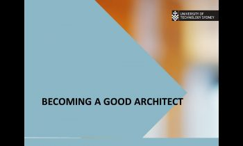 Becoming a good software architect