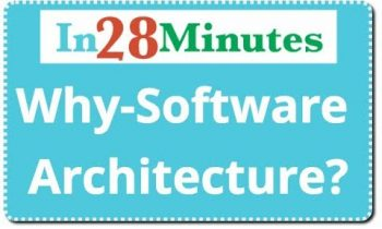 Programmer To Software Architect  – Why do we need Architecture?