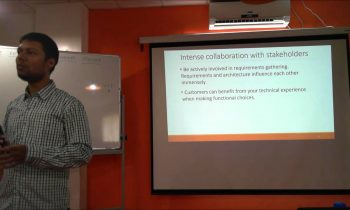 Roles and responsibilities of a Software Architect – Anand Gothe at SA Bangalore Meetup