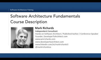 Software Architecture Fundamentals Training Class Course Description