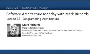 Lesson 32 – Diagramming Software Architecture