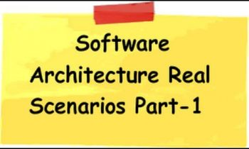 1: Software architecture with real time scenario – Solution for Customer and logger class