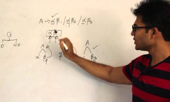 Compiler Design Lecture 4 — Elimination of left recursion and left factoring the grammars