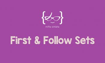 Compiler Design: Finding First & Follow Sets