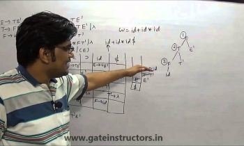 Compiler Design Lecture | Introduction to parsers and LL(1) parsing | 73