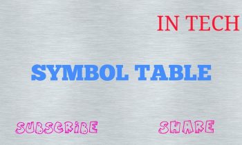 COMPILER DESIGN|PART 6|SYMBOL TABLE|