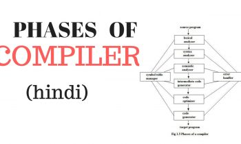 Phases of compiler in hindi