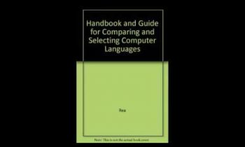 Handbook and Guide for Comparing and Selecting Computer Languages Basic FORTRAN PASCAL COBOL PL1 APL