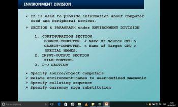 01 COBOL Introduction and sample program compilation