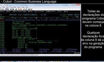 04   A linguagem COBOL   Básico