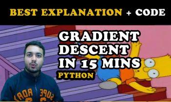 Gradient Descent – How machine learning algorithms & Deep Neural Networks learn? Algorithm+Code