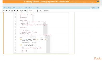 Python Machine Learning – Part 1 : Implementing a Perceptron Algorithm in Python | packtpub.com