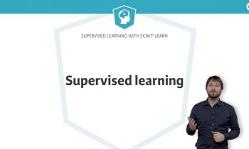 Machine Learning Tutorial: Supervised Learning