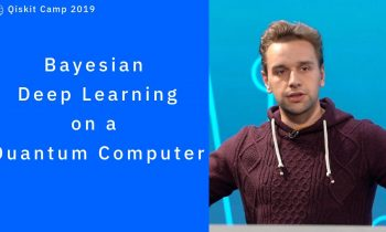 Bayesian Deep Learning on a Quantum Computer
