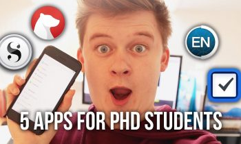 Top 5 Apps for PhD Students | PhD Vlog