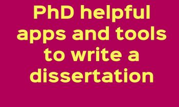 PhD tools,apps,softwares for PhD research scholars