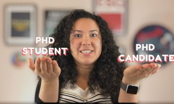 PhD Candidate vs PhD Student