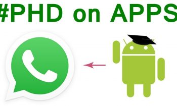 PHD on WhatsApp | PHD on android Apps Part-1