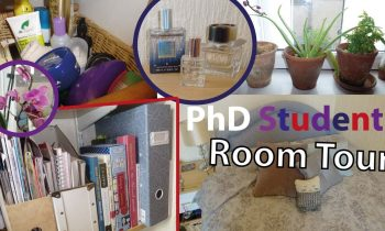 PhD Student Room Tour
