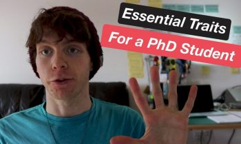 5 Essential Traits for a PhD Student
