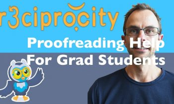 Proofreading Help For Graduate Students ( PhD Writing Software )
