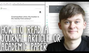 How to Read, Take Notes On and Understand Journal Articles   Essay Tips