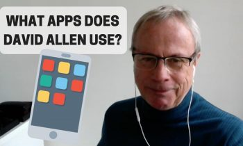 What Apps Does David Allen Use?