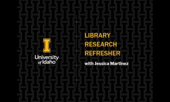 Graduate Student Essentials: Research Refresher