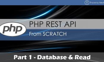 PHP REST API From Scratch [1] – Database & Read