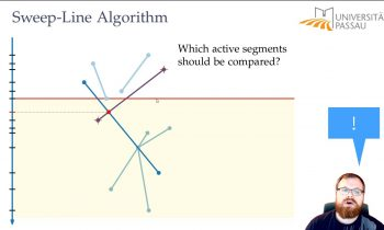 Sweep-Line Algorithm for Line Segment Intersection (2/5) | Computational Geometry – Lecture 02