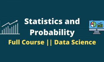 Statistics and Probability Full Course || Statistics For Data Science