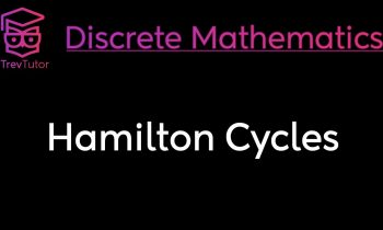 [Discrete Mathematics] Hamilton Cycles
