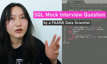 Real Data Science SQL Interview Questions and Answers # 1 | Data Science Interview Questions