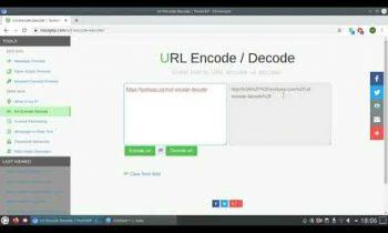 URL Encode / Decode online