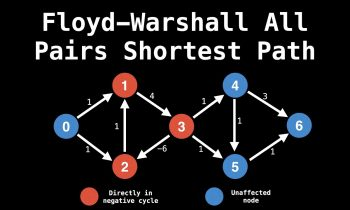 Floyd Warshall All Pairs Shortest Path Algorithm | Graph Theory | Dynamic Programming