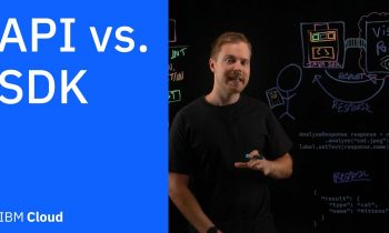 API vs. SDK: What's the difference?