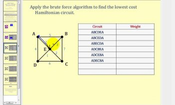 Graph Theory:  The Brute Force Algorithm